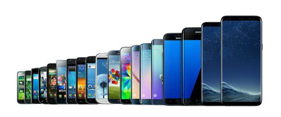 A Evolução do Galaxy S até o Galaxy S10