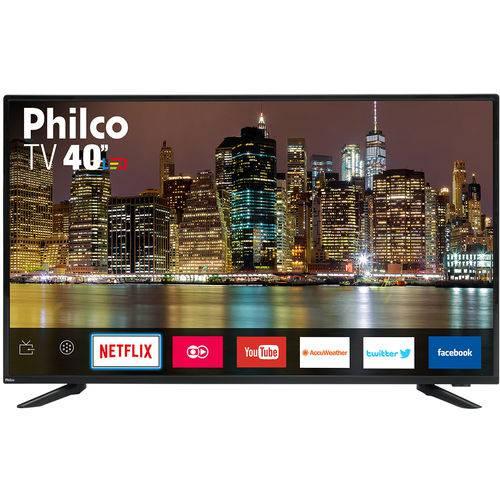"Smart TV de 40"" Boa e Barata"