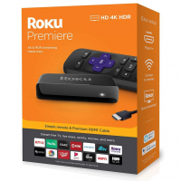 Roku Premiere - Hd/4k/hdr Streaming Media Player, Simples Remoto (Internacional)