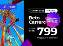 Pacote Beto Carrero World – 2022 Aéreo + Hotel + Ingresso para o Parque!