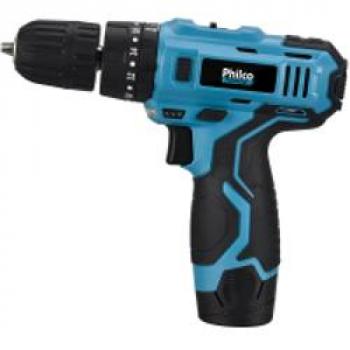 Parafusadeira à Bateria Philco PPF03 com Mandril 3/8 12V – Bivolt