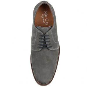 Sapato Social Casual New Classic Cinza - Masculino