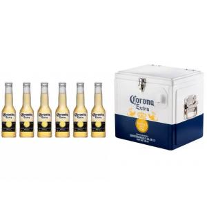 Super Oferta Cooler Termico Corona Cerveja Coronita Extra Lager 6 Unidades 210ml Magazine Luiza