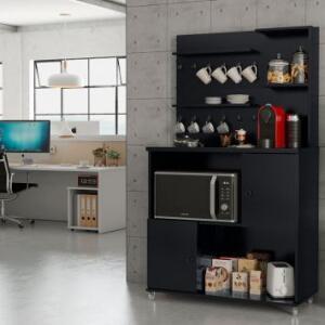 Cozinha Compacta Vini 2 PT Preta