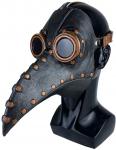 Extaum Peste Máscara de Halloween,Máscara de pássaro da praga Máscara de Halloween Nariz longo Máscara de bico de pássaro Bola de festa Punk Cosplay M