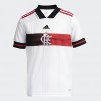 Camisa Infantil do Flamengo 2 Branca