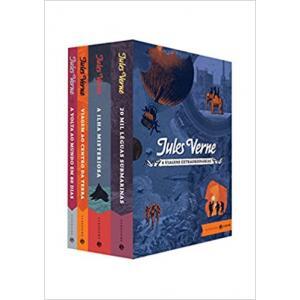 Livro Box Viagens Extraordinárias: Edição Comentada e Ilustrada – Clássicos Zahar