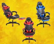 Cadeira Gamer Azul -Prizi – Jx-1039