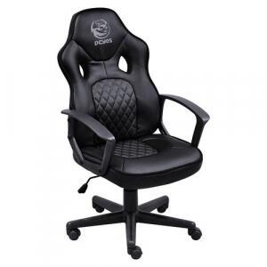 Cadeira Gamer Pcyes Madstimspt Mad Racer Master STI Preta