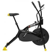 Bicicleta Ergométrica Kikos Bike Air A5 Preto E Amarelo