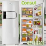Geladeira Consul Frost Free Duplex 437 litros Branca com Horta em Casa – CRM55AB