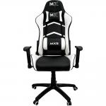 Cadeira Gamer MX5 Giratoria Preto/Branco – Mymax