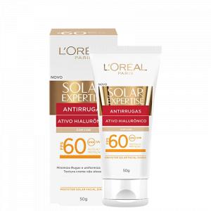 Protetor Solar Facial LOréal Expertise Antirrugas FPS60 50g