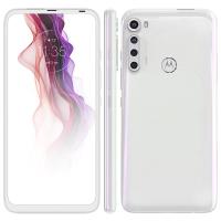 "Smartphone Motorola One Fusion+ Branco Prisma 128GB, Tela de 6.5"", 4GB RAM..."