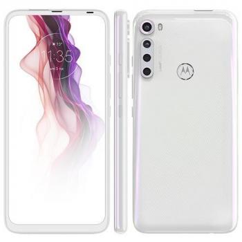 """Smartphone Motorola One Fusion+ Branco Prisma 128GB, Tela de 6.5"""", 4GB RAM, Câmera Traseira Quádrupla, Android 10 e Processador Qualcomm 730"""