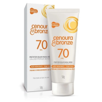 Protetor Solar Facial Cenoura e Bronze - FPS 70 50g