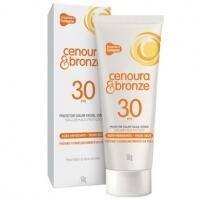 Protetor Solar Facial Diário Cenoura & Bronze FPS 30 50g