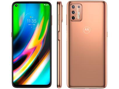 Smartphone Motorola Moto G9 Plus Dual Chip Android 10 Tela 6.8″ 128GB Rose