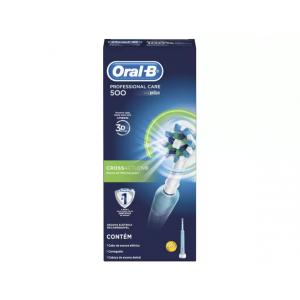 Escova de Dente Elétrica Oral-B - Professional Care 500 Cross Action