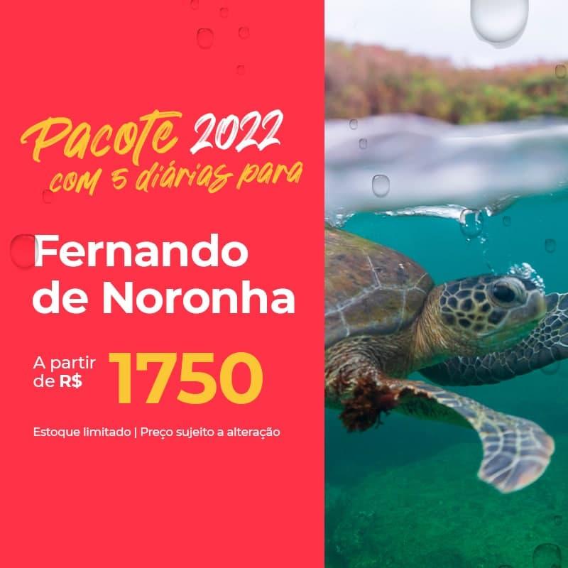 Pacote Fernando de Noronha – 2022