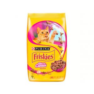 3 Unidades Ração para Gato Premium Friskies Mix de Carnes - Adulto 3kg