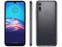"Smartphone Motorola Moto E6S 32GB Cinza Titanium – 4G Octa-Core 2GB RAM 6,1"" Câm. Dupla + Selfie 5MP – Magazine"