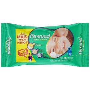 Toalhas Umedecidas Soft and Protect - Personal - 100 unidades