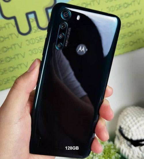 Smartphone Motorola One Fusion 128GB 4G Tela 6.5 Pol. Câmera Quadrupla 48MP Selfie 8MP Android 10