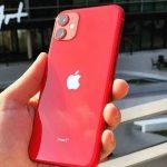 iPhone 11 Vermelho, com Tela de 6,1″, 4G, 128 GB e Câmera de 12 MP – MHDK3BR/A