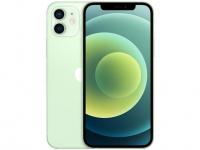 "iPhone 12 Apple 256GB Verde Tela 6,1"" – Câm. Dupla 12MP iOS"