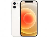 "iPhone 12 Apple 256GB Branco Tela 6,1"" – Câm. Dupla 12MP iOS"