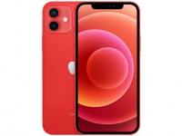"iPhone 12 Apple 256GB (PRODUCT)RED Tela 6,1"" – Câm. Dupla 12MP iOS"