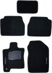 Tapetes de Carpete 05 Peças, Preto – Ford Fusion 11/13