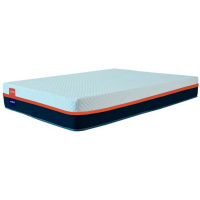 Colchão Casal Guldi Basics (16x138x188) Branco e Azul