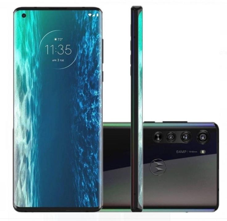 Smartphone Motorola Edge 6,7″ XT2063-3 6GB Ram Câmera 64MP Qualcomm Snapdragon 765 Solar Black