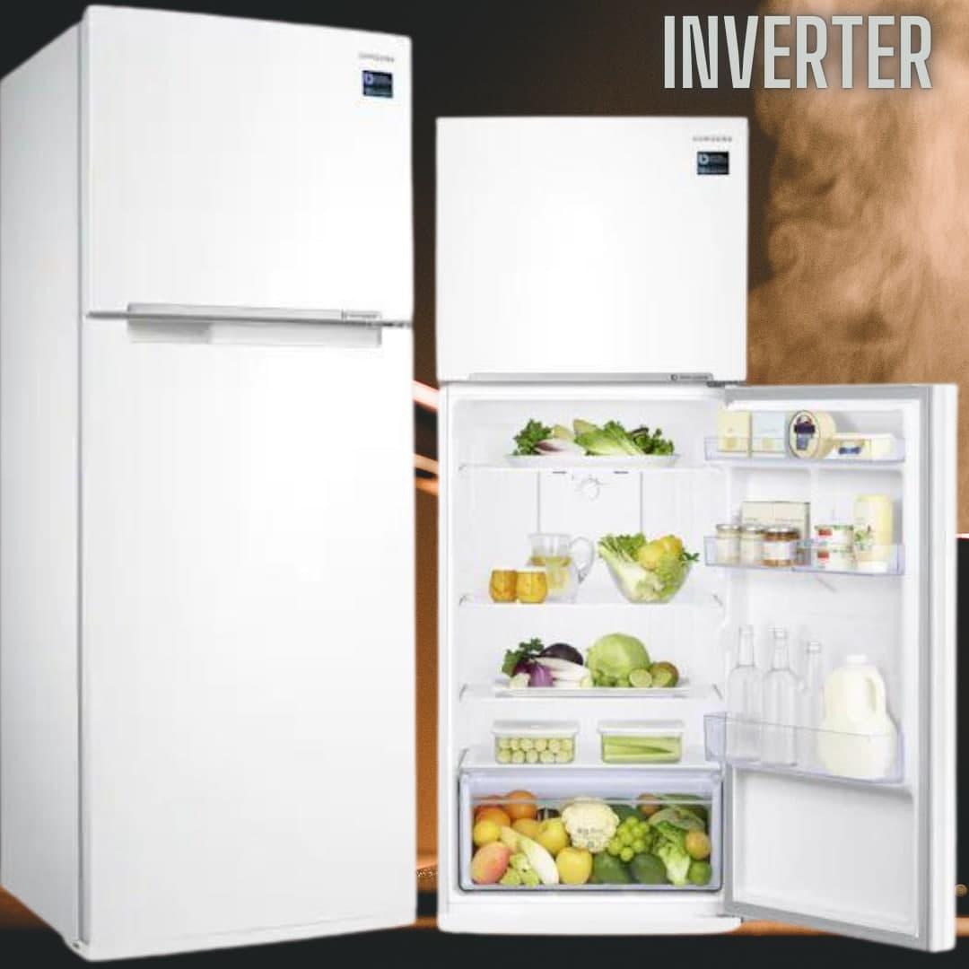 Geladeira Duplex RT38K50AK Branca com All Around Cooling, 385L – Samsung