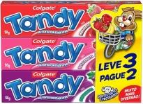 Creme Dental Colgate Tandy 50g Promo Leve 3 Pague 2, Colgate
