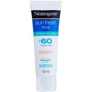Protetor Solar Sun Fresh Facial Controle de Brilho com Cor FPS 60 - Neutrogena - 50ml