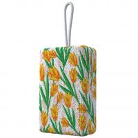 Flash Limp, Esponja Microfibra Para Banho Tulipa Amarela, Decorado
