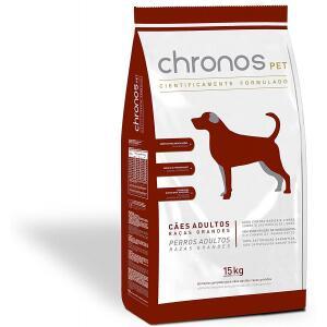 Ração Chronos Pet Cães Super Premium Adultos Raças Grandes 15kg Chronos para Todas Grande Adulto - Sabor Frango