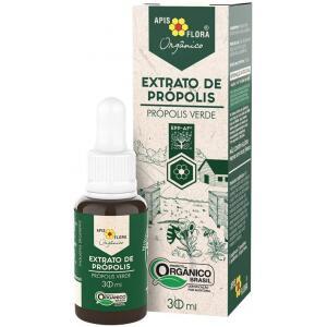 Extrato de Própolis Verde Orgânico 30ml - Extrato de Própolis Orgânico Apis Flora