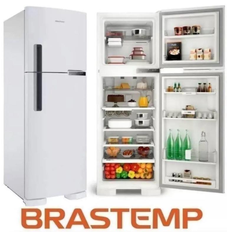 Geladeira/Refrigerador Brastemp Frost Free Duplex – Branca 375L BRM44 HBANA