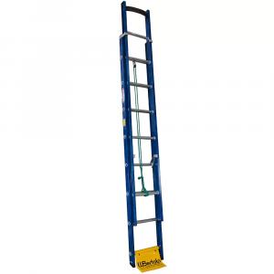 Escada Extensível Premium 13 Degraus Tipo D em Alumínio e Fibra Vazada 2,60 x 4,10 Metros - WBERTOLO-EAFP13