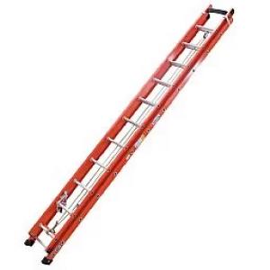 Escada Extensiva 19 Degraus tipo D e Fibra Vazada 3,60x6,00m- WBERTOLO-EAFV19