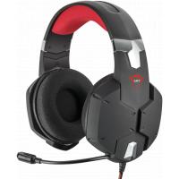 Headset Gamer Trust Carus Multiplataforma Preto GXT322