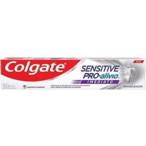 2 Unidades - Creme Dental Colgate Sensitive Pro-Alívio Imediato Branqueador 90g