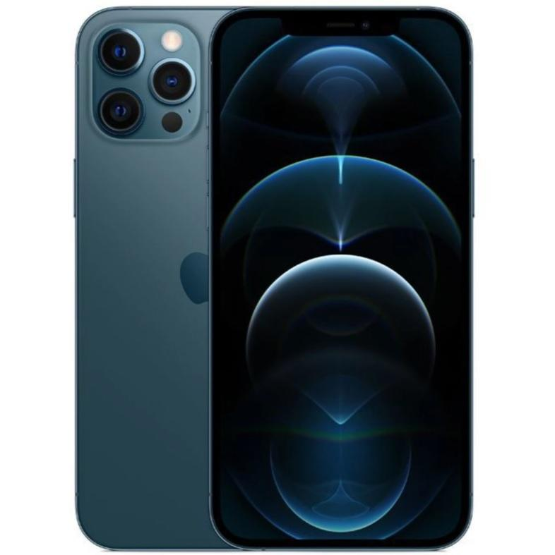 iPhone 12 Pro Max 128GB – 256GB iOS 5G Wi-Fi Tela 6.7″ Câmera – 12MP + 12MP + 12MP + Sensor LiDAR – Apple