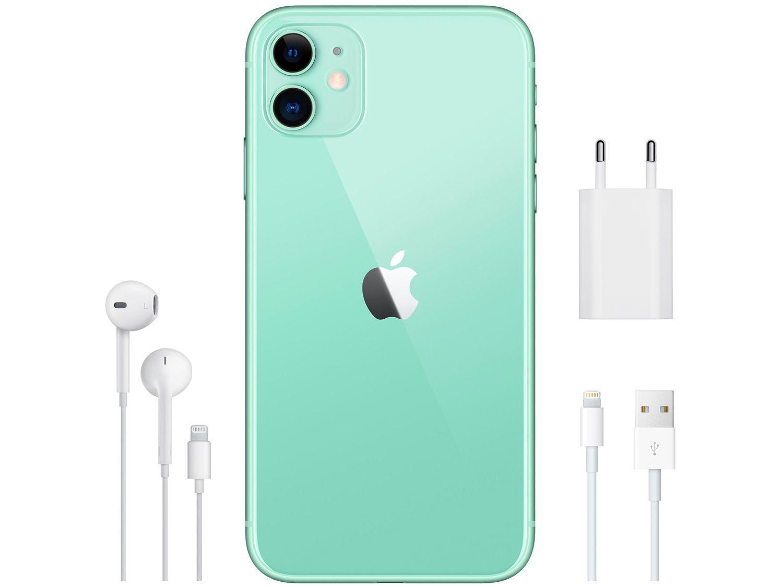 """iPhone 11 Apple 64GB Verde 6,1"""" 12MP iOS"""