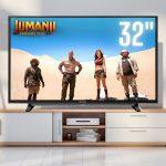 Smart TV LED 32″ Sony HD KDL-32W655D/Z Wi-Fi 2 HDMI 2 USB X-reality Pro Motionflow XR 240 X-protection Pro com Conversor Digital