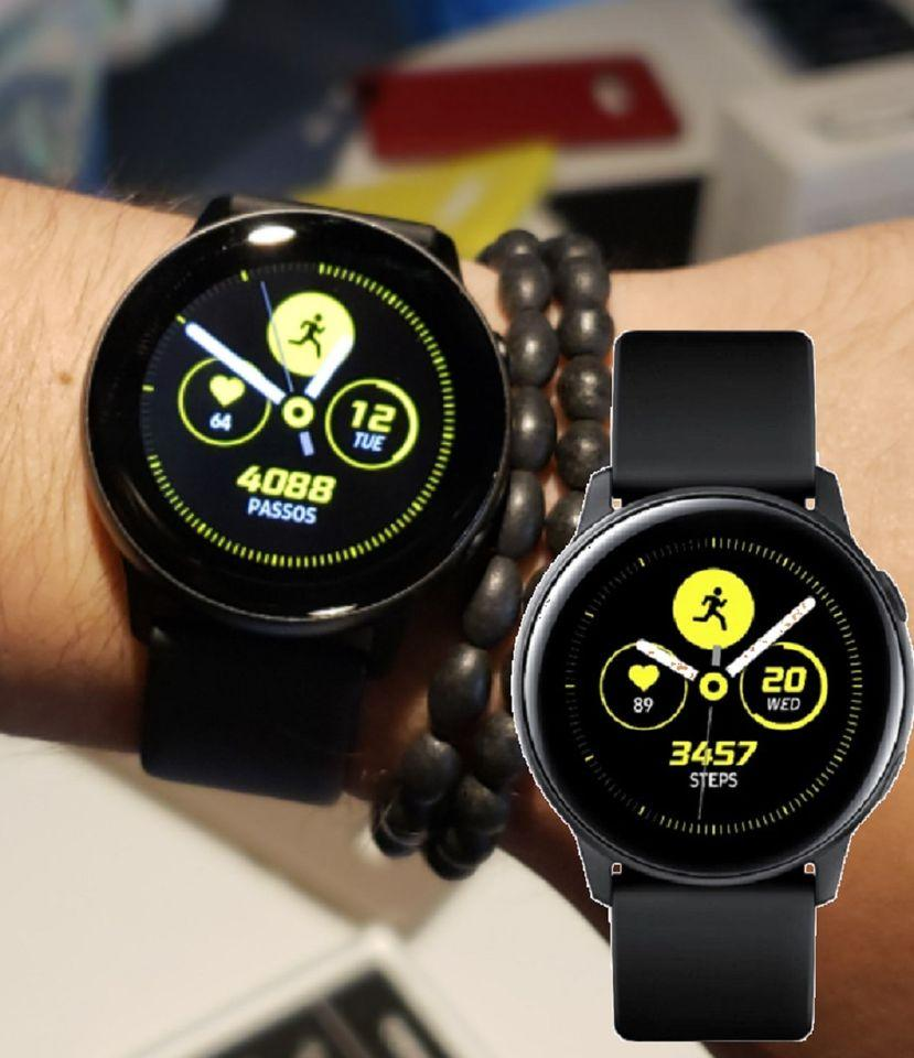 Smartwatch Samsung Galaxy Watch Active – Preto